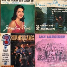 Discos de vinilo: LOTE 4 DISCOS DE VINILO. Lote 268882354