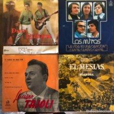 Discos de vinilo: LOTE 4 DISCOS DE VINILO. Lote 268882589
