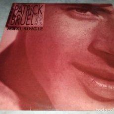 Discos de vinilo: PATRICK BRUEL-ROMPER LA VOZ-ORIGINAL ESPAÑOL. Lote 268885159