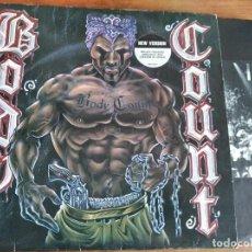Discos de vinilo: BODY COUNT - M/T **** RARO LP SEGUNDA EDICIÓN ED. EUROPEA 1992 BUEN ESTADO ICE-T. Lote 268886424