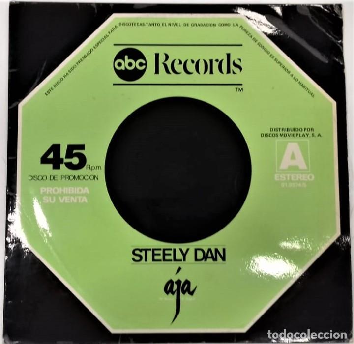 STEELY DAN – BLACK COW / PEG / AJA- MAXI PROMO- ED. ESPAÑOLA- 1978 (Música - Discos de Vinilo - Maxi Singles - Jazz, Jazz-Rock, Blues y R&B)