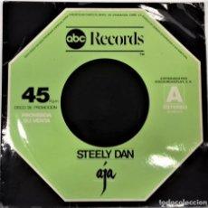 Discos de vinilo: STEELY DAN – BLACK COW / PEG / AJA- MAXI PROMO- ED. ESPAÑOLA- 1978. Lote 268888399