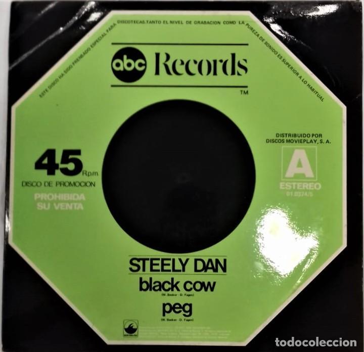 Discos de vinilo: Steely Dan – Black Cow / Peg / Aja- MAXI PROMO- ED. ESPAÑOLA- 1978 - Foto 2 - 268888399