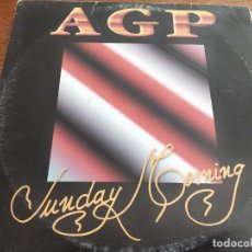 "Discos de vinilo: AGP – SUNDAY MORNING SELLO: MD RECORDS – MD0030. VINYL 12"" SPAIN PUBLICADO: 1995 VG+ / VG. Lote 268889309"
