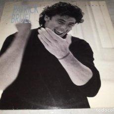 Discos de vinilo: PATRICK BRUEL-PLAZA DE LOS HEROES-ORIGINAL ESPAÑOL. Lote 268889929