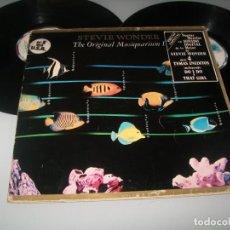Disques de vinyle: STEVIE WONDER - THE ORIGINAL MUSIQUARIUM I - MOTOWN ..2 LP´S DE 1982 - CARPETA ABIERTA. Lote 268893989