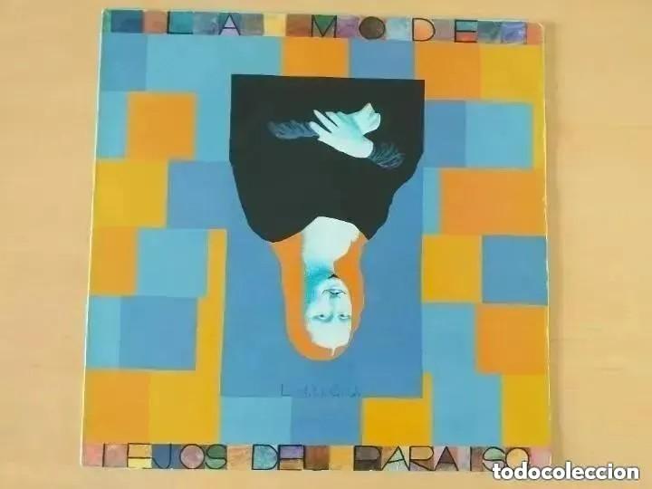 LA MODE - LEJOS DEL PARAISO (MINI-LP) 1985 (Música - Discos de Vinilo - Maxi Singles - Grupos Españoles de los 70 y 80)