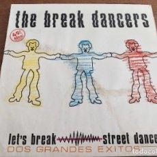 "Discos de vinilo: THE BREAK DANCERS (12"", MIXED) 1984.SELLO:VICTORIA CAT. Nº: VIC-123. VG+ / VG+. Lote 268899149"