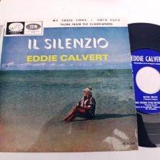 Discos de vinilo: EDDIE CALVERT-EP IL SILENZIO +3-NUEVO. Lote 268903129