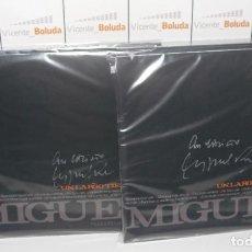 Discos de vinilo: MIGUEL RÍOS UN LARGO TIEMPO - LP VINILO FIRMADO Y LIMITADO NUEVO ENVIÓ CERT ESPAÑA 2 €. Lote 268906689