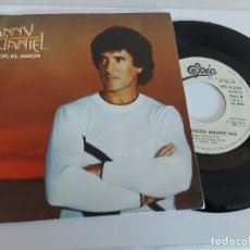 Discos de vinilo: DANNY DANIEL / EL AMOR, EL AMOR / SINGLE PROMO - EPIC-1982 / DE LUJO. ****/****. Lote 268914729
