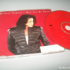 Discos de vinilo: MICHAEL JACKSON - WILL YOU BE THERE..CD 4 TEMAS - EPIC .. RARISIMO. Lote 268920869