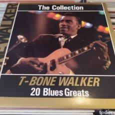 Discos de vinilo: T-BONE WALKER–THE COLLECTION - 20 BLUES GREATS. LP VINILO EDICIÓN ITALIA. BUEN ESTADO.. Lote 268920979