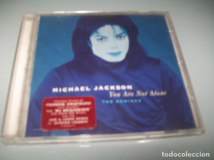 MICHAEL JACKSON - YOU ARE NOT ALONE ..CD - INCLUYE 4 REMIXES, , MJ MEGAMIX ., SCREAM LOUDER O (Música - Discos - Singles Vinilo - Funk, Soul y Black Music)