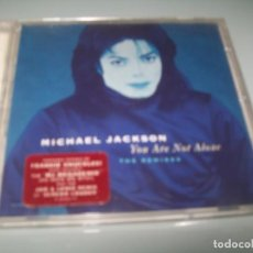 Discos de vinilo: MICHAEL JACKSON - YOU ARE NOT ALONE ..CD - INCLUYE 4 REMIXES, , MJ MEGAMIX ., SCREAM LOUDER O. Lote 268921529