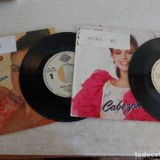 Discos de vinilo: MARÍA JOSÉ SANTIAGO / 2 SINGLES PROMOCIONALES / PROCEDENTES DE EMISORA / MUY BUENA CALIDAD. ***. Lote 268930669