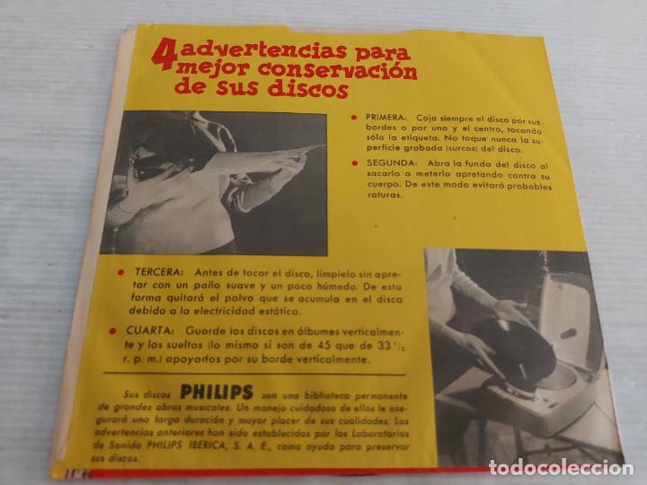 Discos de vinilo: ANA BELÉN / DE PASO / SINGLE PROMO-PHILIPS-1977 / FUNDA PHILIPS / MBC. ***/*** - Foto 2 - 268931424