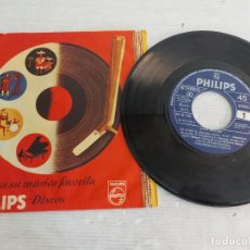 Discos de vinilo: ANA BELÉN / DE PASO / SINGLE PROMO-PHILIPS-1977 / FUNDA PHILIPS / MBC. ***/***. Lote 268931424