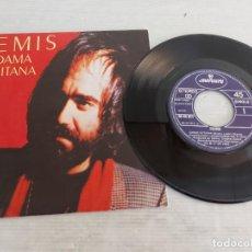 Discos de vinilo: DEMIS ROUSSOS / DAMA GITANA / SINGLE-MERCURY-1982 / MBC. ***/***. Lote 268932074