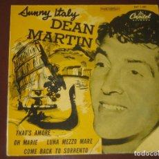 Dischi in vinile: DEAN MARTIN - ED. ESPAÑOLA MUY NUEVO 1958. Lote 268932534