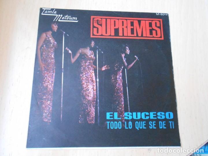 SUPREMES, THE, SG, EL SUCESO (THE HAPPENING) + 1, AÑO 1967 (Música - Discos - Singles Vinilo - Funk, Soul y Black Music)