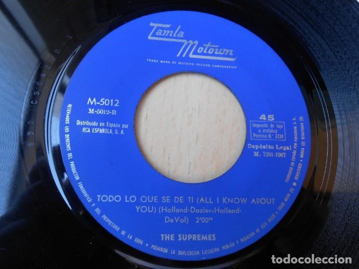 Discos de vinilo: SUPREMES, THE, SG, EL SUCESO (THE HAPPENING) + 1, AÑO 1967 - Foto 4 - 268933394