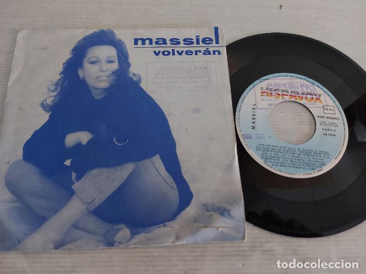 MASSIEL / VOLVERÁN / SINGLE - HISPAVOX-1986 / MBC. ***/*** (Música - Discos - Singles Vinilo - Solistas Españoles de los 70 a la actualidad)
