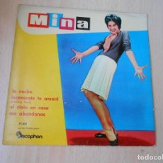 Discos de vinil: MINA, EP, LA NOCHE + 3, AÑO 1960. Lote 268938054
