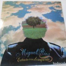 Discos de vinilo: LP-MIGUEL RIOS-ESTRAÑOS EN EL ESCAPARATE- POLYDOR 1981. Lote 268940534