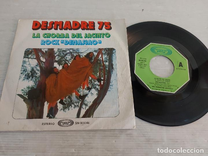 DESMADRE 75 / LA CHORBA DEL JACINTO / SINGLE - MOVIE PLAY-1975 / MBC. ***/*** (Música - Discos - Singles Vinilo - Grupos Españoles de los 70 y 80)