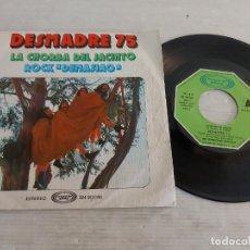 Discos de vinilo: DESMADRE 75 / LA CHORBA DEL JACINTO / SINGLE - MOVIE PLAY-1975 / MBC. ***/***. Lote 268964299
