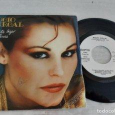 Discos de vinilo: ROCIO DURCAL / LA GATA BAJO LA LLUVIA / SINGLE PROMO - ARIOLA-1981 / MBC. ***/***. Lote 268965369