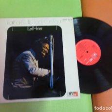 Discos de vinilo: LP , EARL HINES , FATHA & HIS FLOCK ON TOUR , VER FOTOS. Lote 268966384