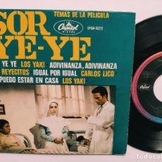 Discos de vinilo: OST SOR YE-YE * EP MEXICO PS * EX * LOS YAKIS * LOS REYECITOS * CARLOS LICO * ADIVINA, ADIVINZA + 3. Lote 268968244