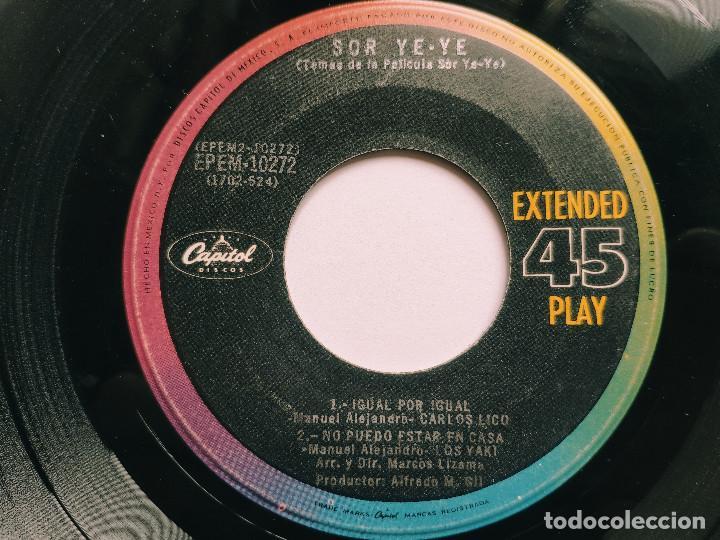 Discos de vinilo: OST SOR YE-YE * EP Mexico PS * EX * LOS YAKIS * LOS REYECITOS * CARLOS LICO * Adivina, adivinza + 3 - Foto 3 - 268968244