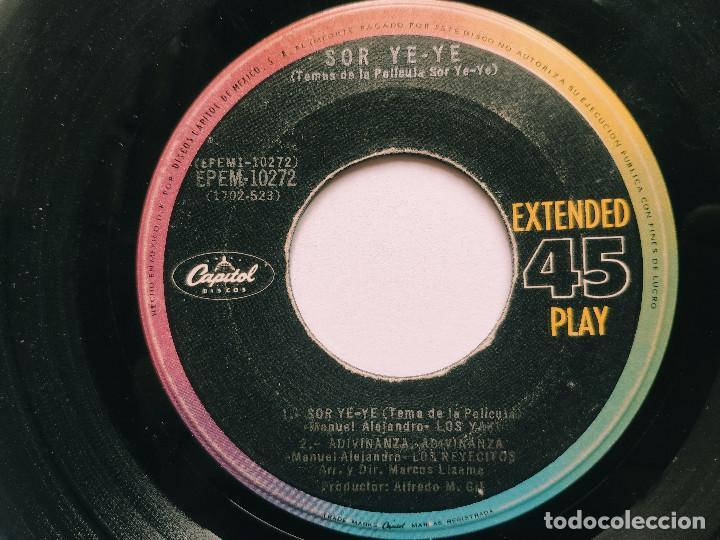 Discos de vinilo: OST SOR YE-YE * EP Mexico PS * EX * LOS YAKIS * LOS REYECITOS * CARLOS LICO * Adivina, adivinza + 3 - Foto 4 - 268968244