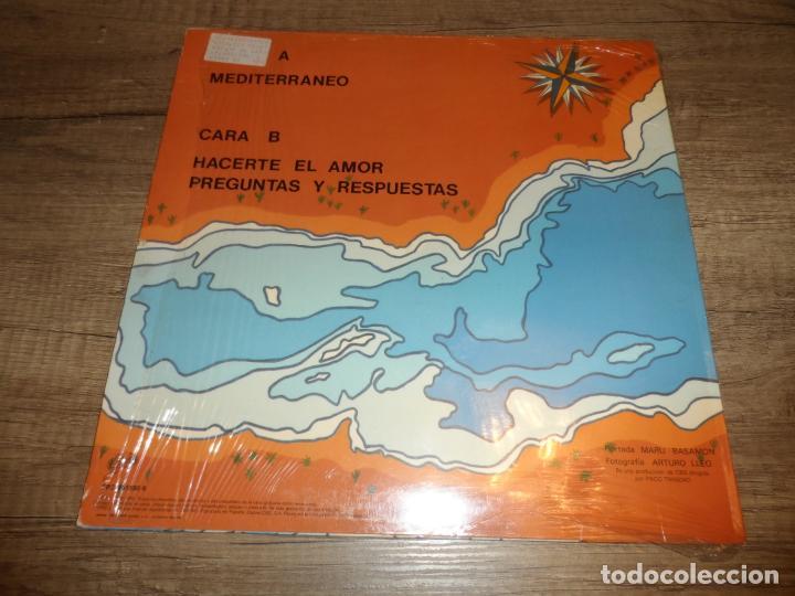 Discos de vinilo: LOS REBELDES - MEDITERRANEO / HACERTE EL AMOR + PREGUNTAS Y RESPUESTAS - Foto 2 - 268969114