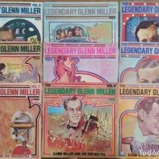 Discos de vinilo: EXCELENTE ESTADO. LOTE 9 DISCOS LP DE VINILO THE LEGENDARY GLENN MILLER. COLECCIÓN 1 AL 9. Lote 268972679