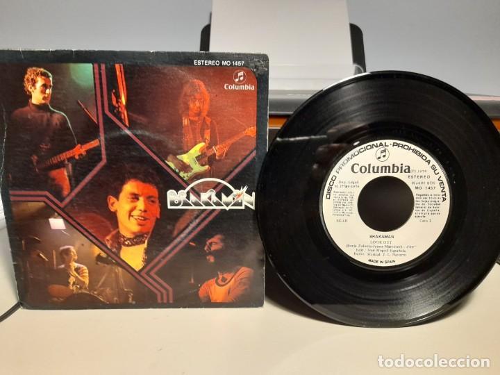SG BRAKAMAN : SOLITUDE ( PROMO LABEL BLANCO, INCLUYE HOJA PROMOCIONAL ) (Música - Discos - Singles Vinilo - Grupos Españoles de los 70 y 80)