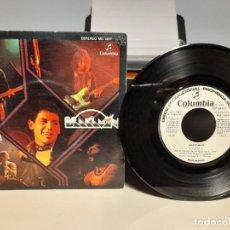 Discos de vinilo: SG BRAKAMAN : SOLITUDE ( PROMO LABEL BLANCO, INCLUYE HOJA PROMOCIONAL ). Lote 268974464