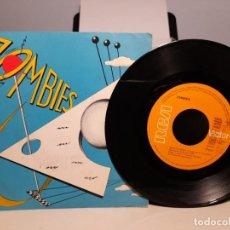 Discos de vinilo: SG ZOMBIES : GROENLANDIA ( INCLUYE ENCARTE CON LAS LETRAS ) PRIMERA EDICION, 1980. Lote 268975699