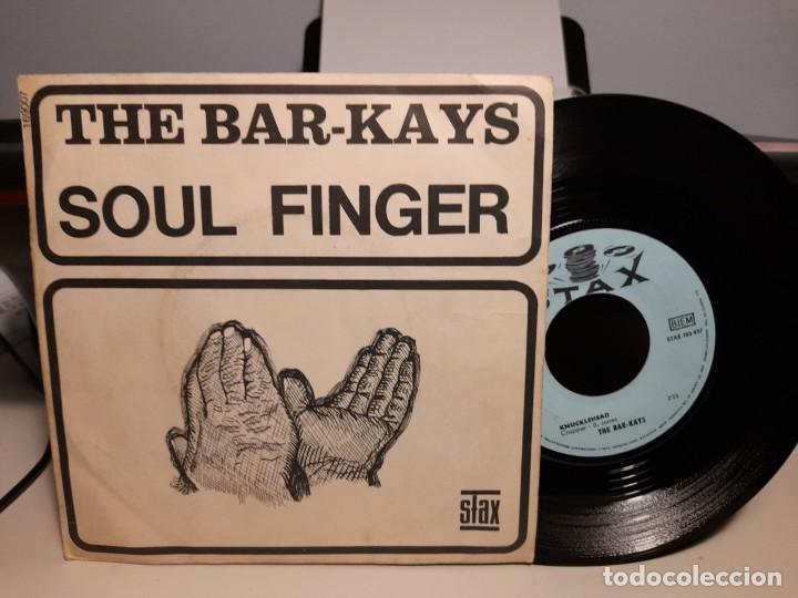 SG THE BAR-KAYS : SOUL FINGER (Música - Discos - Singles Vinilo - Funk, Soul y Black Music)