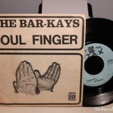 Discos de vinilo: SG THE BAR-KAYS : SOUL FINGER. Lote 268977684