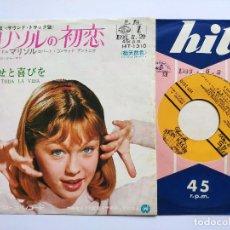 Discos de vinilo: MARISOL - 45 JAPON PS - MINT * OST LA NUEVA CENICIENTA * ME CONFORMO / PARA TODA LA VIDA * 1966. Lote 268977754