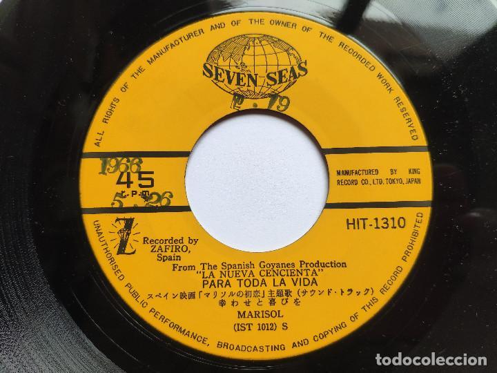 Discos de vinilo: MARISOL - 45 JAPON PS - MINT * OST LA NUEVA CENICIENTA * ME CONFORMO / PARA TODA LA VIDA * 1966 - Foto 3 - 268977754