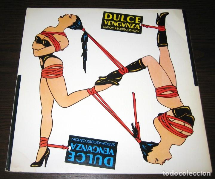 DULCE VENGANZA - SADOMASODISCOSHOW - MINI LP DRO 1984 + INSERT (Música - Discos - LP Vinilo - Grupos Españoles de los 70 y 80)