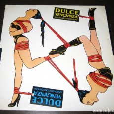 Discos de vinilo: DULCE VENGANZA - SADOMASODISCOSHOW - MINI LP DRO 1984 + INSERT. Lote 268978314