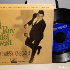 Discos de vinilo: EP CHUBBY CHECKER ( EL REY DEL TWIST ) : YOUR FEETS TOO BIG + 3. Lote 268978394