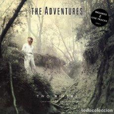 """Discos de vinilo: THE ADVENTURES - TWO RIVERS (12"""") (1985/UK). Lote 268978684"""
