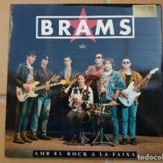 Discos de vinilo: BRAMS_AMB EL ROC A LA FAIXA AÑO 1992. Lote 268992319